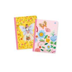 2 roze opschrijfboekjes