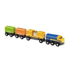 3 wagon cargotrain