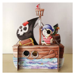 3d pop up piraten