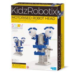 4m Robotkop Met Motor