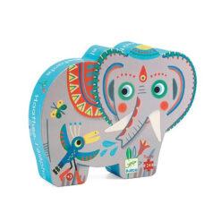 Aziatische olifant puzzel 24