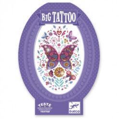 Big Tattoos vlinder