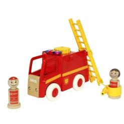 Brandweerwagen met geluid