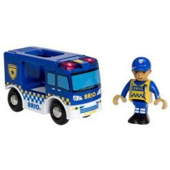 Brio politie auto
