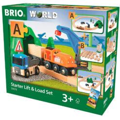 Brio railway starter lift and load