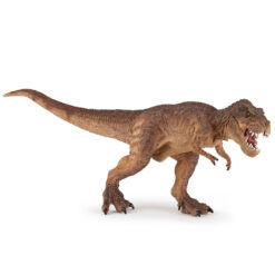 Bruine rennende T-Rex