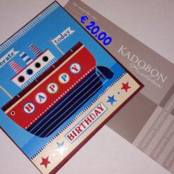 Cadeaubon 20 euro