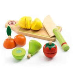 Fruit en groente snijden
