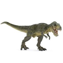 Groene rennende T-Rex