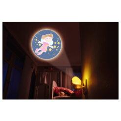 Haba nachtlampje beschermengelen