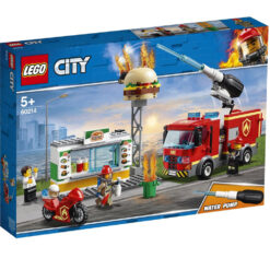 Lego City Brandweer Burger-Bar