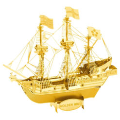 Metal Earth Golden Hind -Gold-