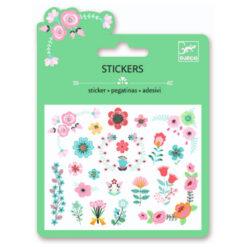 Mini stickers bloemen
