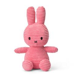 Nijntje corduroy 23cm bubblegum roze