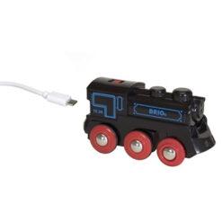 Oplaadbare locomotief