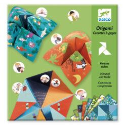 Origami peper en zout
