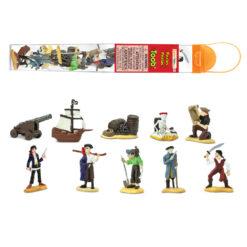 Piraten in tube 10 stuks