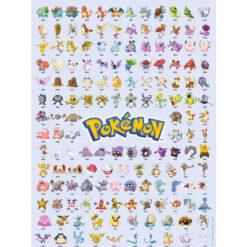Pokemon puzzel 500 pcs