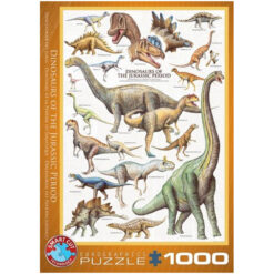 Puzzel Dinosaurs of the Jurassic