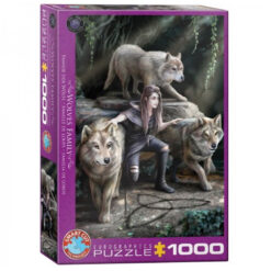 Puzzel Wolves family 1000