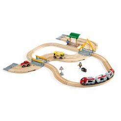 Rail & Road Travel Set