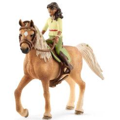 Sarah en Mystery paard speelfiguur