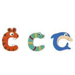 Scratch letter C