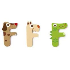 Scratch letter F