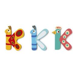 Scratch letter K