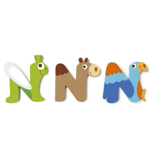 Scratch letter N