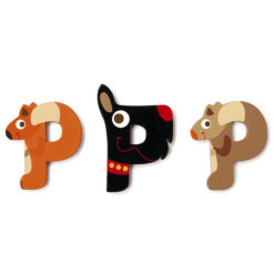 Scratch letter P