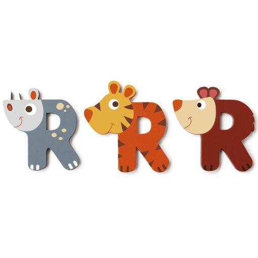 Scratch letter R