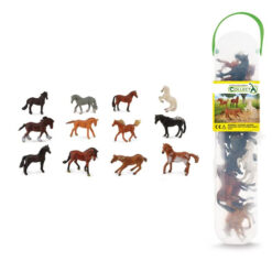 Set Met 12 Mini Paarden