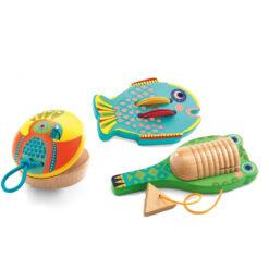 Set van 3 slaginstrumenten