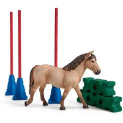 Slalom voor Pony