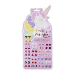 Stick on Earrings Unicorn