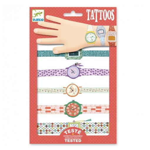 Tatouages Horloges