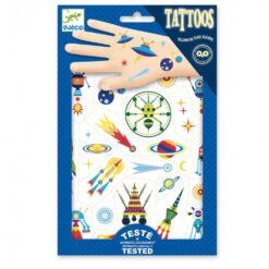 Tatouages space thema
