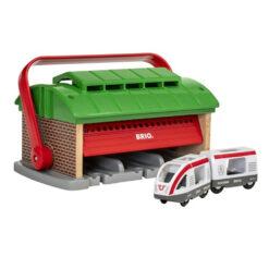 Train Garage with handle