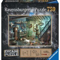 escape puzzel basement