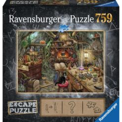escape puzzel de heksenkeuken