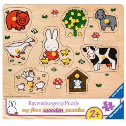 houten puzzel Nijntje 8pcs