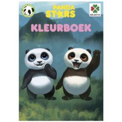 kleurboek panda star