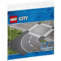 lego City Bocht en Kruispunt