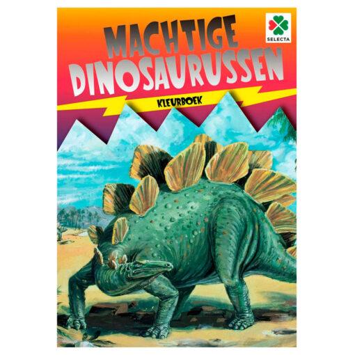 machtige dinosaurussen kleurboek