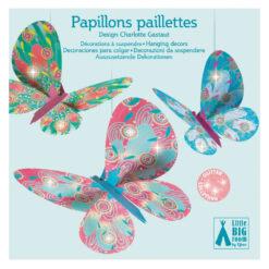 papieren vlinders decoratie