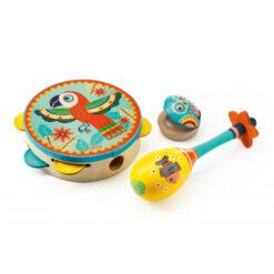 set met drie instrumenten