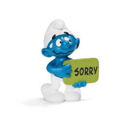 smurf zegt sorry