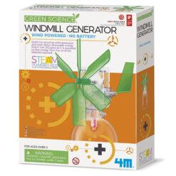 4M GreenScienceWindmolenGenerator
