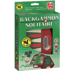 Backgammon - solitaire reis versie